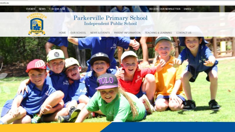 PARKERVILLE PRIMARY SCHOOL WEBSITE