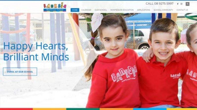 BANKSIA MONTESSORI SCHOOL WEBSITE